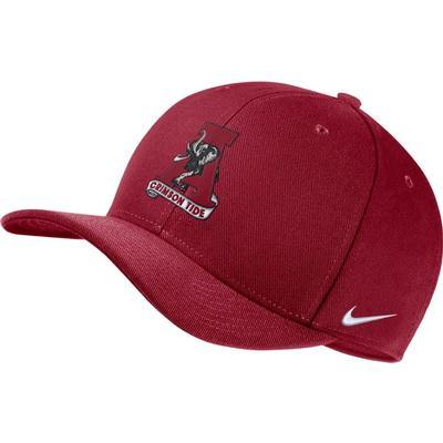 Alabama Nike Dri-fit Vault Logo Swooshflex C99 Cap