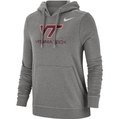Virginia Tech Nike Women's Pullover Club Hoodie