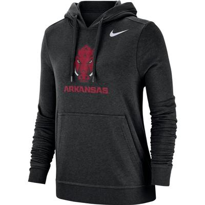 Arkansas Nike Women's Pullover Club Hoodie