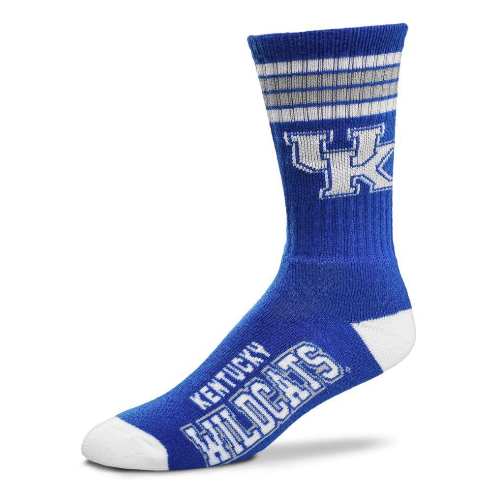 Kentucky 4- Stripe Deuce Sock