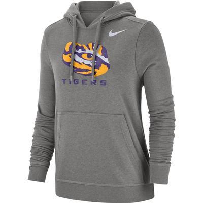 LSU Nike Women's Pullover Club Hoodie