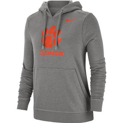 Clemson Nike Women's Pullover Club Hoodie