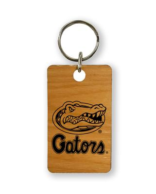 Florida Timeless Etchings Gators With Logo Key Chain