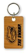 Florida Timeless Etchings Wooded The Swamp With Logo Key Chain