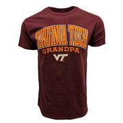 Virginia Tech Victory Grandpa T- Shirt