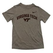Virginia Tech Youth Boys Nike Legend Dri- Fit T- Shirt