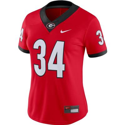 Georgia Nike Women's #34 Game Jersey