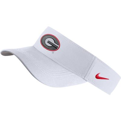Georgia Nike Dri-FIT Logo Visor