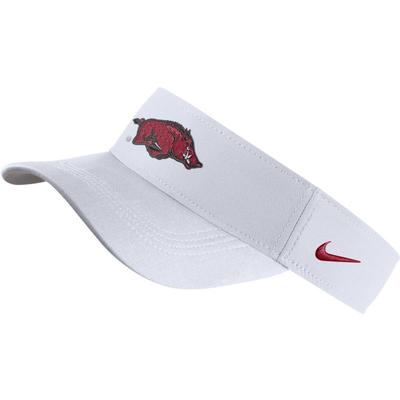 Arkansas Nike Dri-FIT Logo Visor