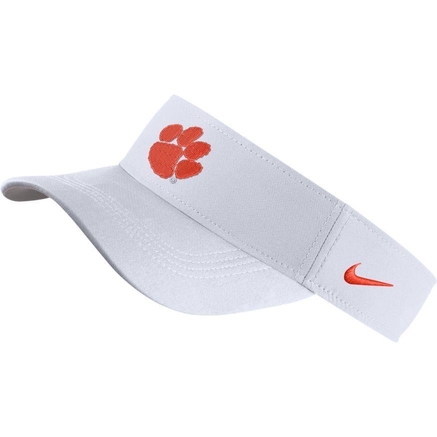 Clemson Nike Dri- Fit Logo Visor