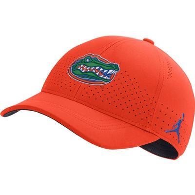 Florida Jordan Brand Sideline Aero L91 Hat ORANGE