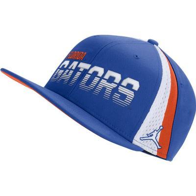 Florida Jordan Brand Dry Sideline Adjustable Flatbrim Hat