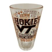 Virginia Tech 16 Oz.Spirit Pint Glass