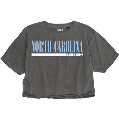 North Carolina Logo Crop Tee