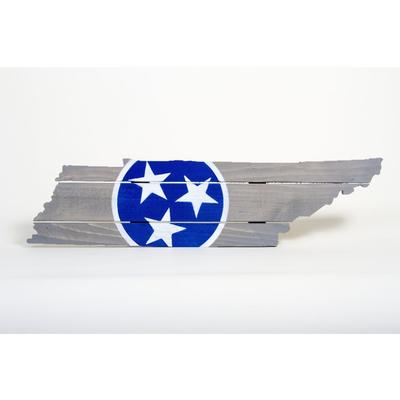 Blue Tristar Tennessee Wooden Sign (30.25