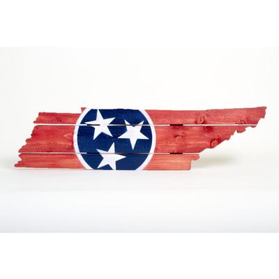 Tennessee Tristar Wooden Sign (30.25