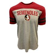 Florida State 47 Versus Club Striped Sleeve Tee