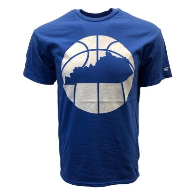 Kentucky Outline Short Sleeve Basketball T-Shirt
