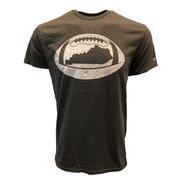 Kentucky Outline Short Sleeve Football T- Shirt