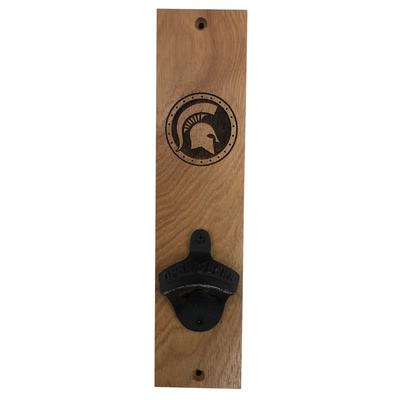 Michigan State Timeless Etchings Wall Mount Bottle Opener