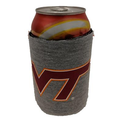 Virginia Tech Heathered Can Coozie