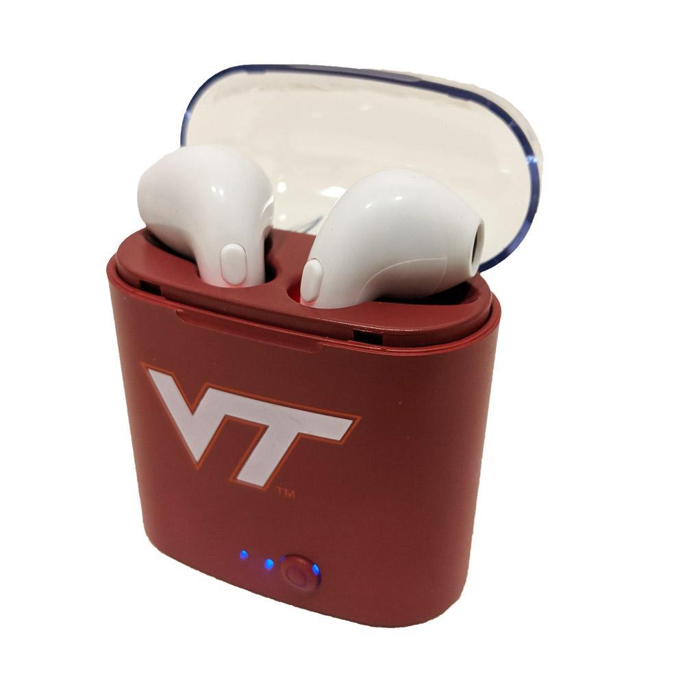 Virginia Tech Bluetooth Wireless Earbuds