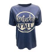 Kentucky Y ' All Overdyed Short Sleeve Tee