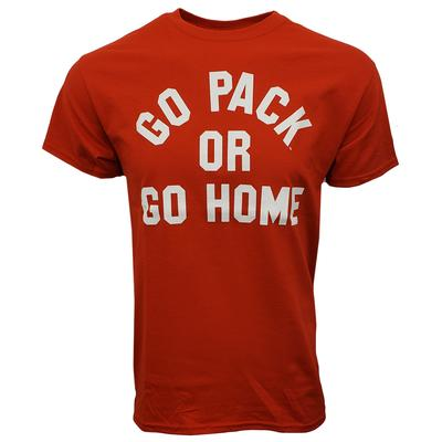 NC State Go Pack Or Go Home Short Sleeve Tee