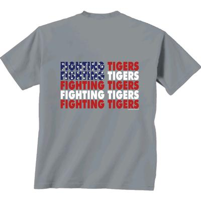 LSU Patriotic Comfort Colors Tee Shirt
