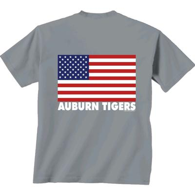 Auburn Patriotic Comfort Colors Tee Shirt