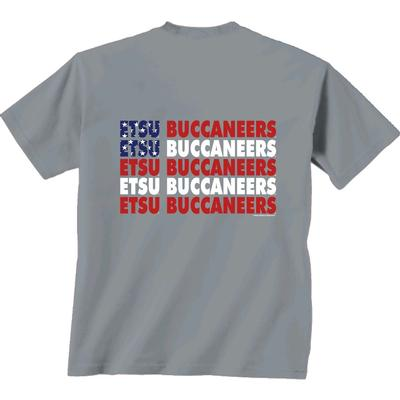 ETSU Patriotic Comfort Colors Tee Shirt