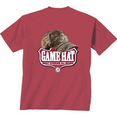 Alabama Camo Hat Comfort Colors Tee Shirt