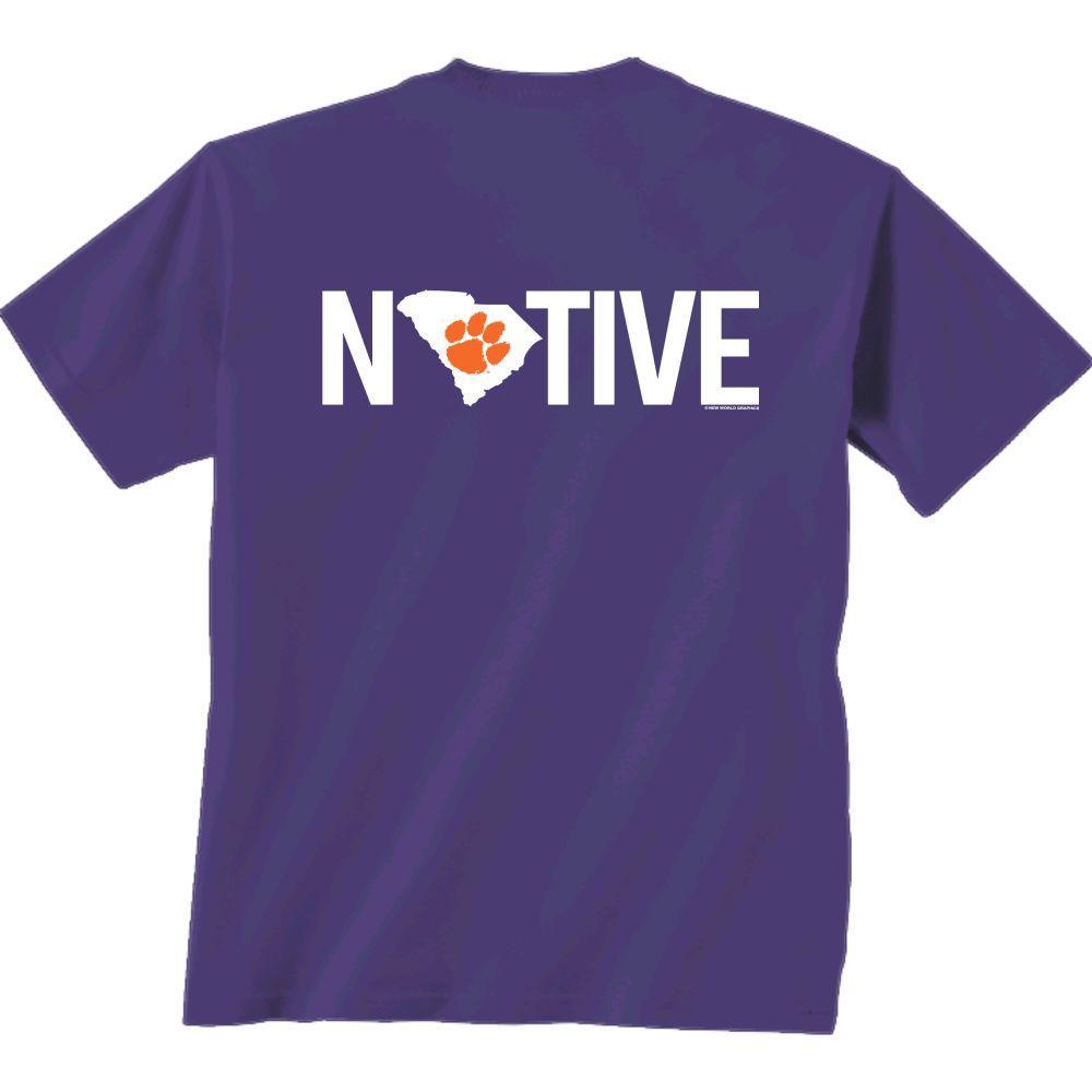 Clemson Native Comfort Colors Tee Shirt