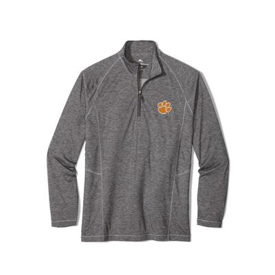 Clemson Tommy Bahama Goal Keeper Half Zip Pullover