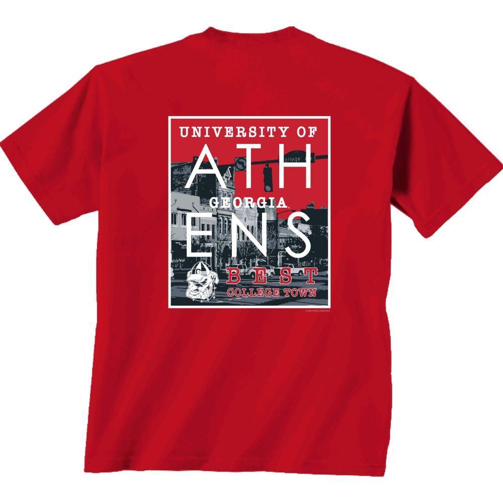 Georgia Best College Town Tee Shirt