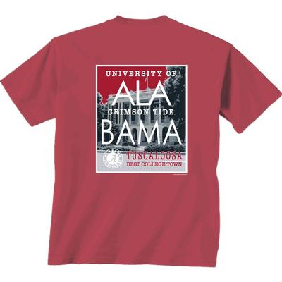 Alabama Best College Town Tee Shirt