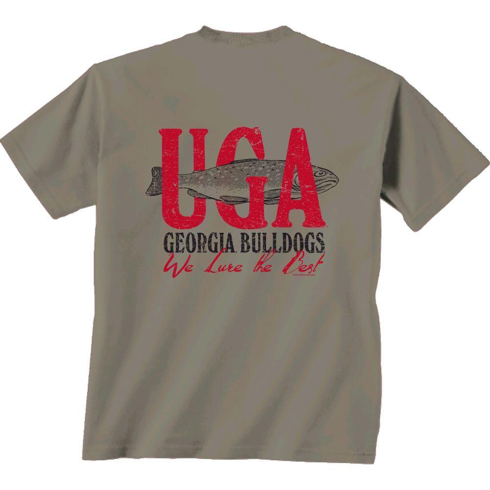 Georgia Fishing And Football Shirt