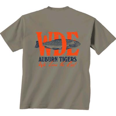 Auburn Fishing and Football Shirt