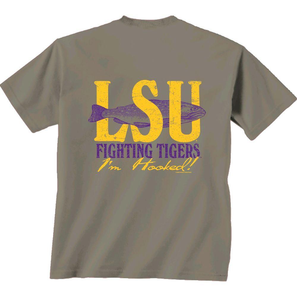 Lsu Fishing And Football Shirt