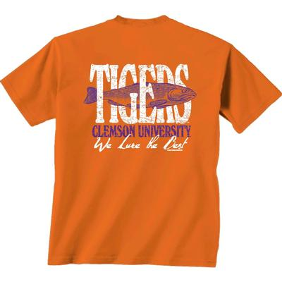 Clemson Fishing and Football Shirt