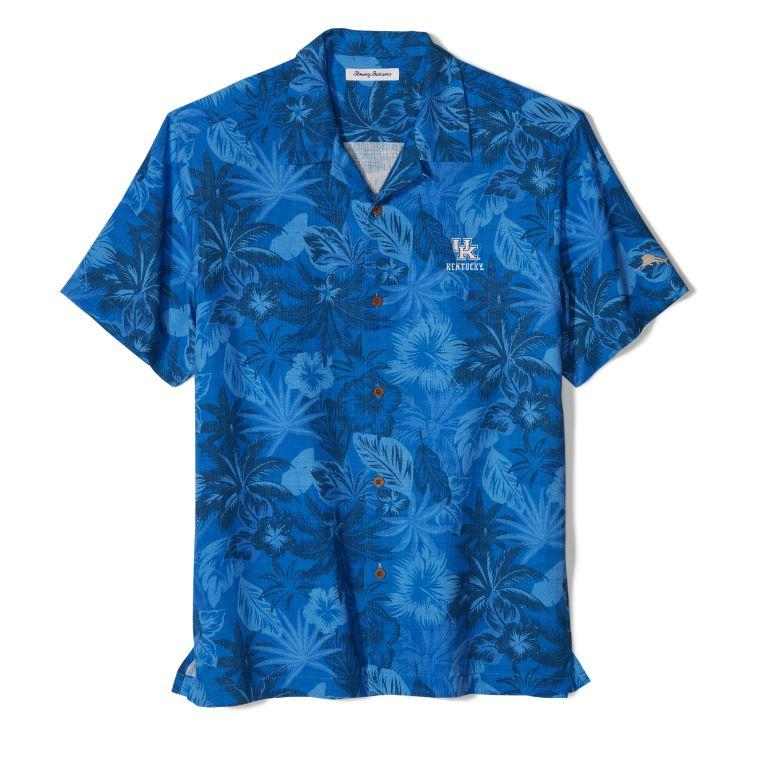 Kentucky Tommy Bahama Fuego Floral Camp Shirt