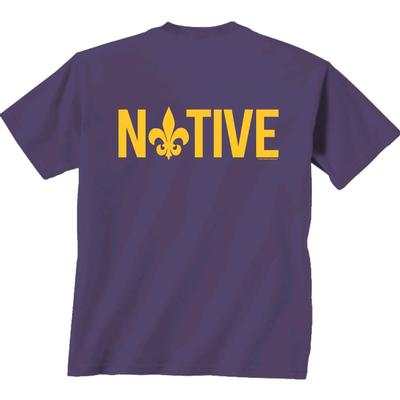 LSU Native Comfort Colors Tee Shirt