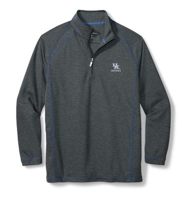 Kentucky Tommy Bahama Final Score Half Zip Pullover