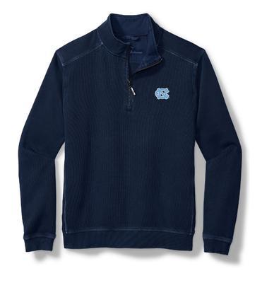 UNC Tommy Bahama Nassau Half Zip Pullover