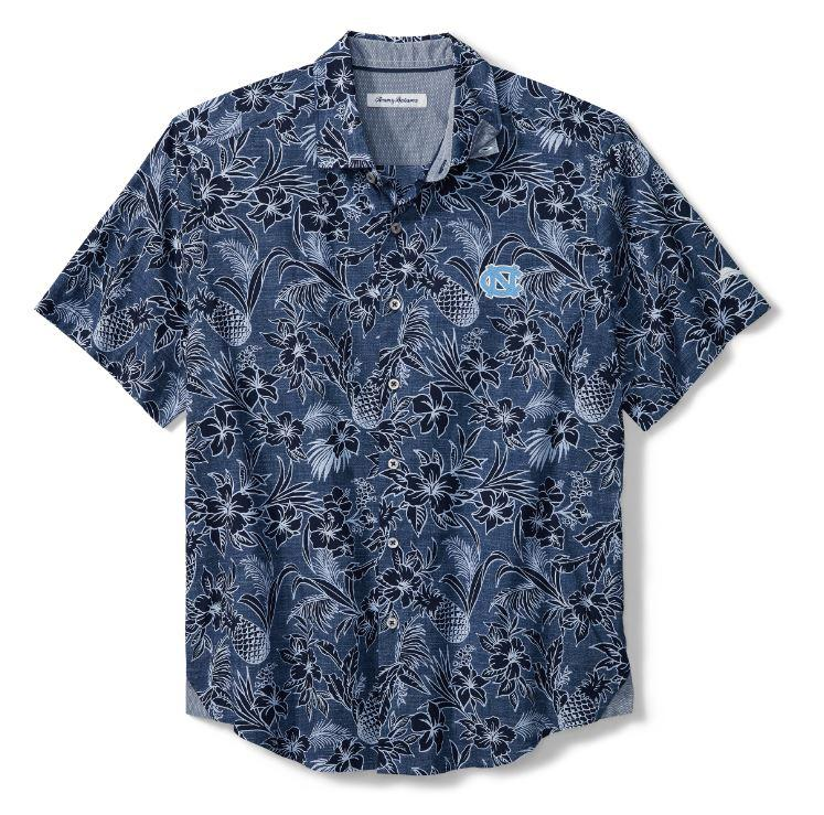 Unc Tommy Bahama Tiki Luau Camp Shirt