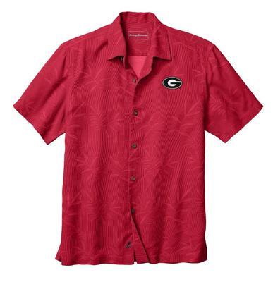 Georgia Tommy Bahama Luau Floral Core Camp Shirt