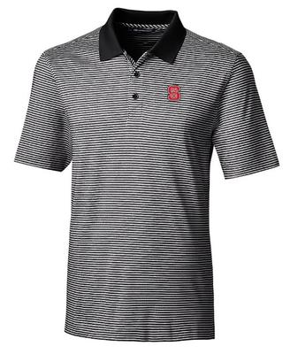 NC State Cutter & Buck Forge Tonal Stripe Polo