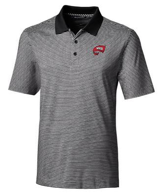 Western Kentucky Cutter and Buck Tonal Stripe Forge Polo