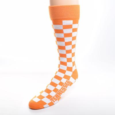 Tennessee Checkerboard Socks