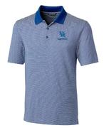 Kentucky Cutter And Buck Tonal Stripe Forge Polo